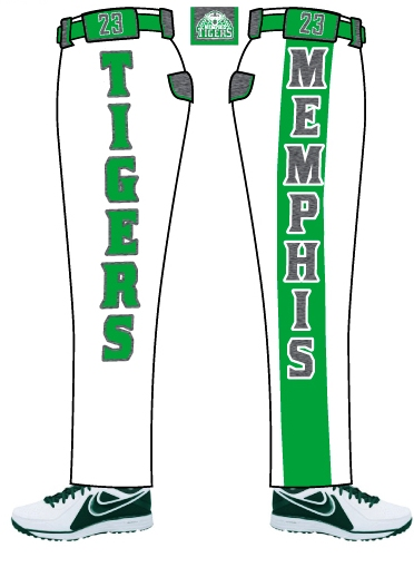 Memphis-Tigers-2014-2 WHITE PANEL PANT