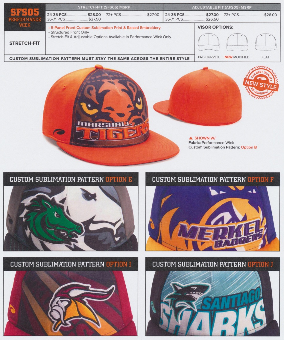 sublimated hat 2