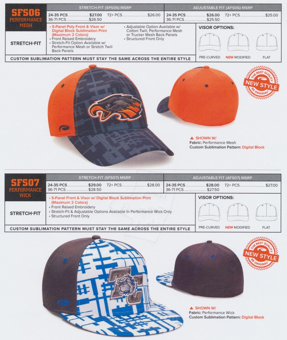 sublimated hat 3